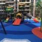 怡涵 学校新国标户外epdm塑胶跑道 幼儿园小区橡胶颗粒彩色弹性地面施工